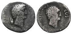 Mark Antony & his brother Lucius Antony - Ephesus, 41 BC