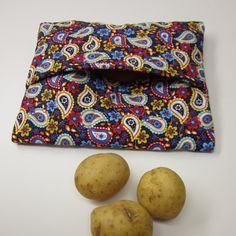 Fabric Fascination Simple Hostess Gift Potato Bag For The Microwave