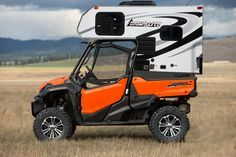 What do you think of the new cabinet camper for the UTV? Photo from ・・・ New camping rig for the family! Truck Camper, Kombi Motorhome, Mini Camper, Cabover Camper, Camping Ideas, Camping Hacks, Outdoor Camping, Cool Campers, Rv Campers