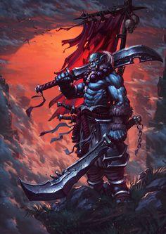 ArtStation - Blademaster , Todor Hristov