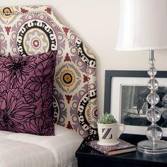 DIY Upholstered Fabric Headboard - craftgawker