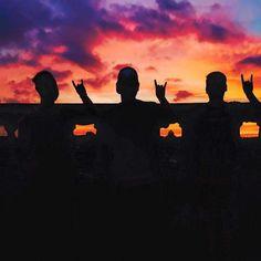 Longhorn sunset! #Hookem