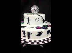 Resultado de imagem para bolos de aniversario anos 80