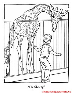 Top 25 Free Printable Zoo Coloring Pages Online   Pinterest   Zoos ...