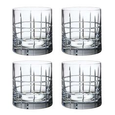 Street Whiskeyglas OF 4-Pack, Orrefors
