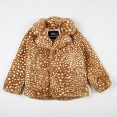 Mini Rodini CAMBRIDGE FAUX FUR JACKET
