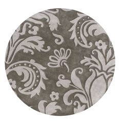 Alliyah Handmade Grey New Zealand Blend Wool Rug (6' Round) | Overstock.com Shopping - The Best Deals on Round/Oval/Square