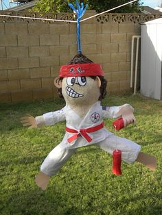 Martial Arts Piñata Karate Pinata-trying to figure out something for ...