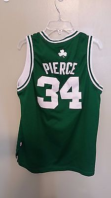 BOSTON CELTICS PAUL PIERCE BASKETBALL JERSEY SIZE LARGE 14-16 YOUTH