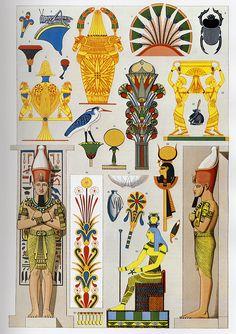 Ancient Egypt ornaments