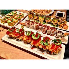 .@Steve Ek   Overkill. #sushi #benihanas #instasushi #instafood   Webstagram - the best Instagram viewer
