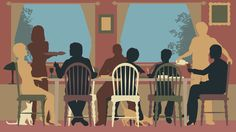 Grieving can be isolating for young adults. A fledgling nonprofit invites 20- and 30-somethings to share their grief, with strangers, over a meal.
