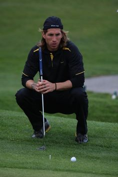 Sergio Ramos. Yes, I know he's not a pro golfer, but any time I can pin him, I shall. LOL