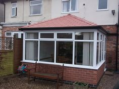 Before/After - Tiled Roof Replacement Warm Roof, Roofing Systems, Conservatory, Garage Doors, Windows, Outdoor Decor, Home Decor, Decoration Home, Room Decor
