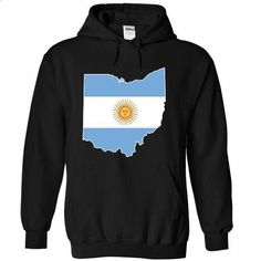 Argentinian in Ohio - #sweater scarf #burgundy sweater. ORDER NOW => https://www.sunfrog.com/States/Argentinian-in-Ohio-3151-Black-Hoodie.html?68278