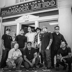 Shamrock tatoo Mark Mahoney
