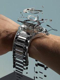 Wristwatch deconstruction