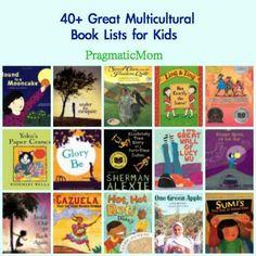 40+ Multicultural Book Lists for Kids :: PragmaticMom #KidLit #WeNeedDiverseBooks
