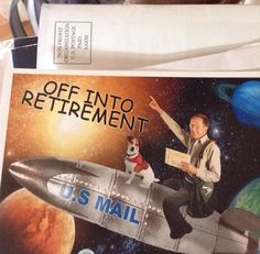 So my mailman is retiring...  // funny pictures - funny photos - funny images - funny pics - funny quotes - #lol #humor #funnypictures