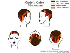 Carly's Color Placement-pin it from carden