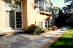 Slate Walkway Patterns Pavers Stone Patio Contractors Pa