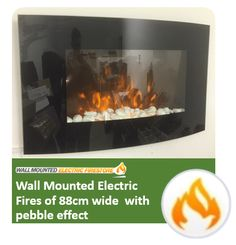 Usually 2016 TruFlame 7 colour side-lit LEDs wall mounted arched glass electric fires of 88cm wide are sold at £349.99. They're now up for sale at £199.99! A flat discount of 43% is given on them!