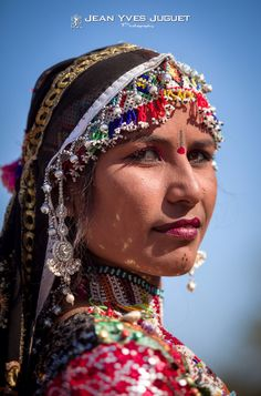 Gypsy à la Foire aux Chameaux de Pushkar (Rajasthan -Inde) - Gypsy at the Pushkar Camel Fair in (Rajasthan -India)