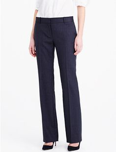 """Although these are called """"skinny"""" pants, I like that they're strait and classic and not skinny like skinny jeans"""