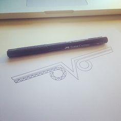 "@thewhovo's photo: ""Today a minimalistic owl #OVO #TATTOO #INK #dominikthewho"" www.dominik-thewho.de"