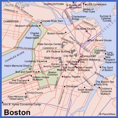 nice Boston Map