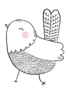 This is Gold new poster for sale available from my shop launching this week thi. - This is Gold new poster for sale available from my shop launching this week thi… – – - Bird Drawings, Cute Drawings, Doodle Drawings, Vogel Illustration, Cute Illustration, New Poster, Sale Poster, Zentangle, Illustration Mignonne