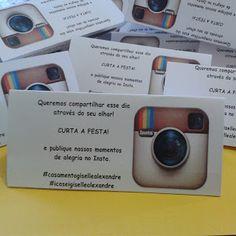 Gy Farias: Como fazer plaquinhas do instagram para festas