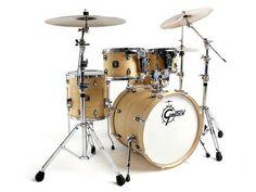 Gretsch Catalina Club Jazz 4 Piece Drum Set Satin Natural w OSP Hardware | eBay only $679!
