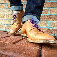 http://chicerman.com  selvedge-socks-shoes:  Put a cap toe and a medallion together I dont care how you slice it its my favorite style. New drop from Adam @aldenofcarmel #spring #new #shoegame #aldenofcarmel #laces #captoe #selvedge #raw #nature #gqinsider #alden #aldenarmy #antique #rrl #horween #patina #dapperlydone #mensfashionpost #fashionblogger #casual #mensfashion #denim #leather #custom #sartorial #cobbler #booted #lifestyleblogger by @inn8chiro  #menshoes
