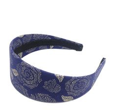 7faed5f8644e Floral Wide Headband - Navy and Gold Rose Headband - big girl headband -  teen headband - adult headb