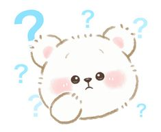 LINE Creators' Stickers - Syrup of a cub(everyday) Example with GIF Animation Question Gif, Gifs, Emoji, Bear Gif, Cute Polar Bear, Random Gif, Love Bear, Love Stickers, Animated Cartoons