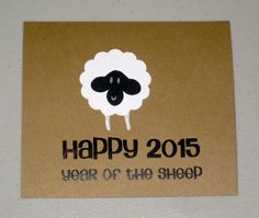 happy 2015 - Year of the Sheep
