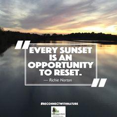 We agree 100 percent with this one. (Photo courtesy of William Kaluzny) #reconnectwithnature #sunsets #naturephotography #naturequotes