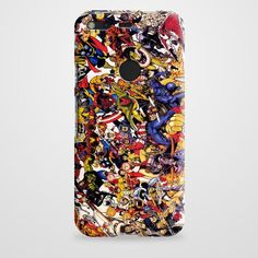 The Avengers Characters Art Google Pixel Case | casefantasy