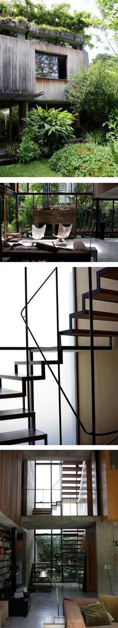 Architect Alejandro Sticotti's self-designed home in Buenos Aires