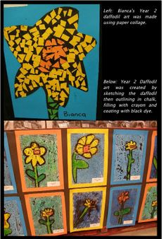 Daffodil Day Art