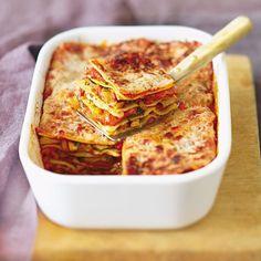 Lasagnes poulet-poivron - Marie Claire