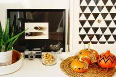 Wohnvorstellungen - Einrichtungsideen für alle: Halloween Deko: Kürbisse dekorieren