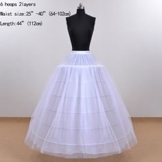 In Stock Wedding Underskirt Tulle Bridal Petticoat Jupon Mariage Ball Gown Petticoats Imported China Real Picture