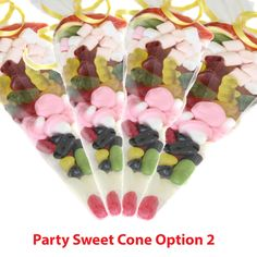 Single Party sweet Cone Option 2