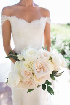 dress + bouquet