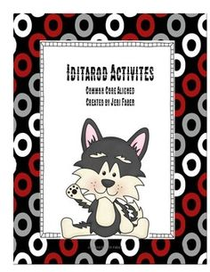 """Are you planning on following the Iditarod in you classroom this year?  Learning about what has been dubbed """"The Last Great Race"""" can be very exciting and motivating to your students. Your students will have a dog-gone good time with learning!  Hugs, Jeri FaberHere is a list of what this packet includes:*table of contents*background of the race*list of common core standards*directions for a reading race for your classroom*reading race summary sheets*certificates*checkpoint info*checkpoint…"""