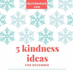 Kindness ideas espec