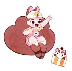 Becky and Frank -- Bee and Puppycat