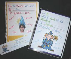Classroom Freebies: Word Wall Word Wizard Activities